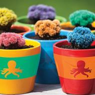 Bright Octopus Pots