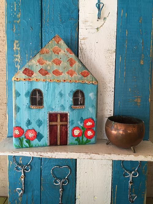 Mixed Media Wooden Summer House