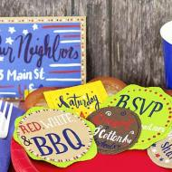 Fourth of July BBQ Invite