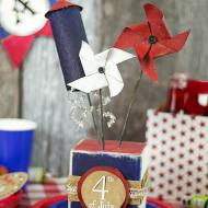 Fourth of July Table Décor