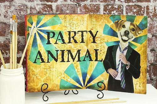 Real Party Animal Journal Page