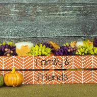 Fall Centerpiece Crate