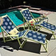 Vintage Patio Chair Upcycle