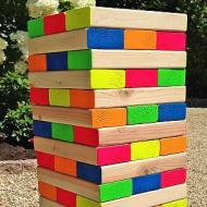 Outdoor Wooden Block Game