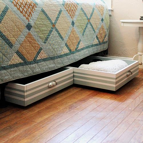 DIY Under-Bed Storage Drawers