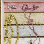 Pastel Glitter Jewelry Tray Crate