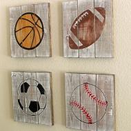 Sports Ball Plaques