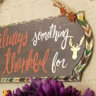 Thanksgiving Door Sign