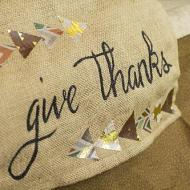 """Give Thanks"" Table Runner"