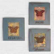Chalky Finish Inspirational Frames