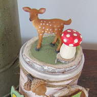 Cookie Container with Deer