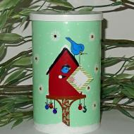Birdhouse Cookie Container