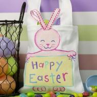 Happy Easter Bunny Tote