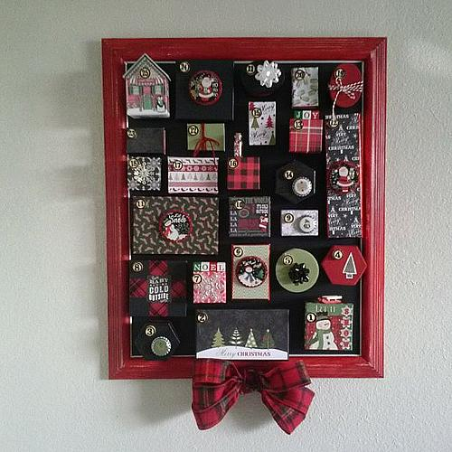 Countdown To Christmas Advent Calendar Project By Decoart
