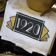 Roaring 20s Bar Towel