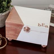Rose Gold Jewelry Box