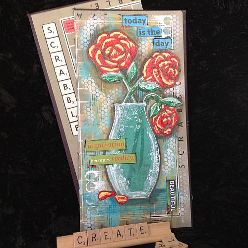 Recycled Materials Mixed Media Art Project By Decoart