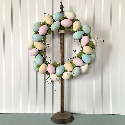Springtime Easter Egg Wreath