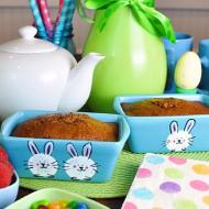 Easter Bunny Mini Bread Pans