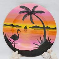 Tropical Breeze Plate
