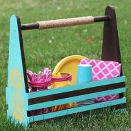 Picnic Supply Caddy
