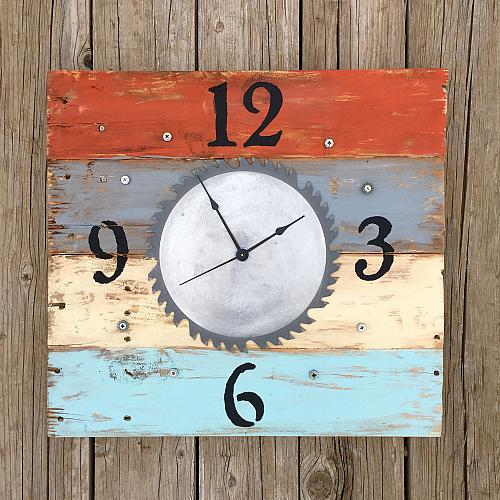 Saw Blade Clock For Dad Project By Decoart