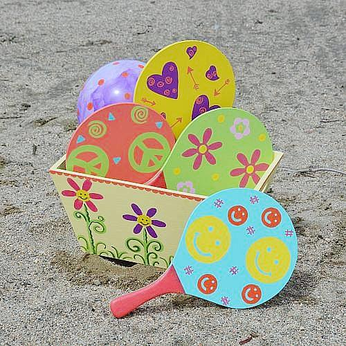 kids beach ball fun game