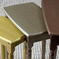 Metallic Nesting Tables
