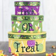 Stackable Halloween Boxes