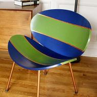 Sleek Retro-Inspired Chair