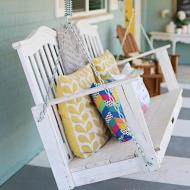Upcycled Milk Can Stamped Table Project By Decoart