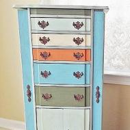 Vintage Jewelry Cabinet