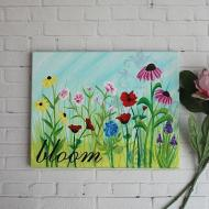 Blooming Canvas