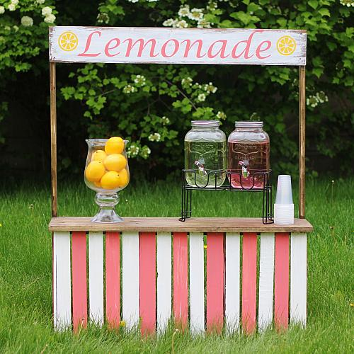 Lemonade Stand Made From Crates Project By Decoart