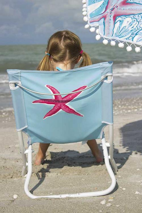 Lilly Pulitzer® Inspired Starfish Beach Chair   Project By DecoArt