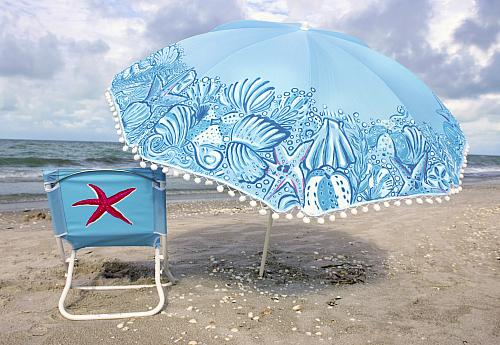 Exceptional Lilly Pulitzer® Inspired Beach Umbrella   Project By DecoArt Pictures