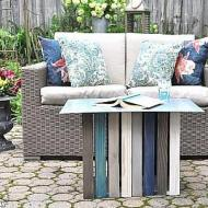 Coastal Inspired Crate Table