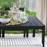 Patio Dining Set Makeover