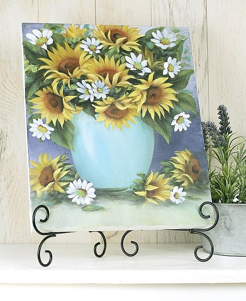 Floral Delight Canvas