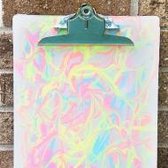 Marbled Clipboard