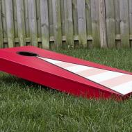 Bright and Modern Painted Cornhole