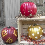 Outdoor Pumpkins