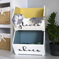 Gloves and Shoes Storage Bins