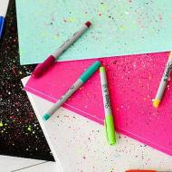 Paint Spattered Notebooks