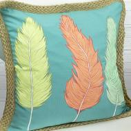 Bright Feather Pillow