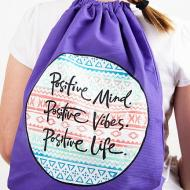 Positive Vibes Backpack