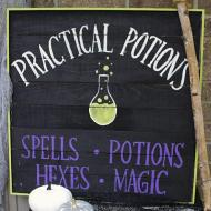 Practical Potions Sign
