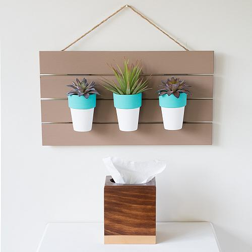 Wall Hanging Succulent Holder
