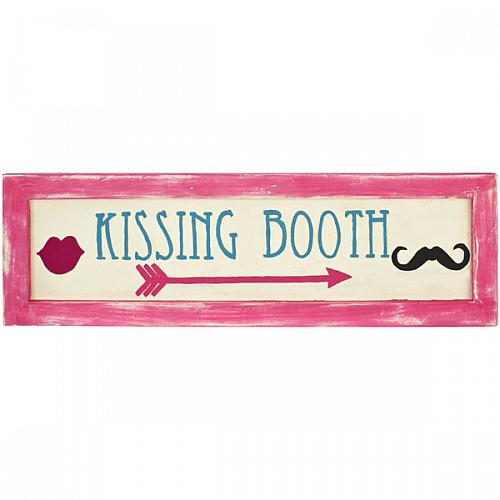 Rustic Kissing Booth Sign Project By Decoart