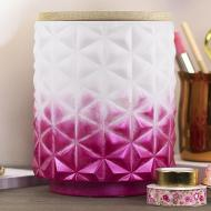 Pink Ombre Canister